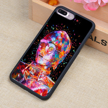 DROID STAR WAR Printed Soft Rubber Mobile Phone Cases For iPhone 6 6S Plus 7 7 Plus 5 5S 5C SE 4 4S Cover Skin Shell