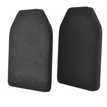 Airsoft Outdoor Paintball Military Tactical Vest Back Baffle Protective Pad Shock Resistant EVA Dummy Ballistic Plate
