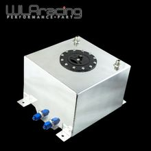 WLRING STORE - 20L Aluminum Fuel Surge tank with cap/foam inside mirror polished  Fuel cell  without sensor  WLR-TK14