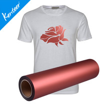 Q1-3 Kenteerfashionable Pearl Effect  Thermal Heat Transfer Film For T-Shirt