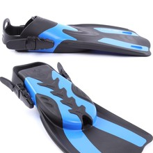 Adult Water Sports Flexible Comfort New Swimming Fins Submersible Long Swimming Snorkeling Foot Profession Diving Fins Flippers(China)