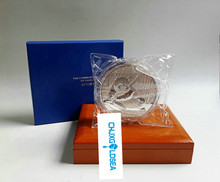 2015 Chinese Panda commemorative plated plated silver coin 1kg with COA and box for collection gift present