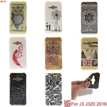 LELOZI Best Cheap Ultra Thin TPU Silicone Soft Phone Case kryty capa shell Cover For Samsung Samsug Galaxy J3 2016 J 320 J320(China)