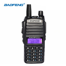 Baofeng UV-82 Portable Walkie Talkie 5W VHF UHF 136-174 / 400-520MHz 128CH UV82 Handheld Ham Radio Communicator FM Transceiver(China)