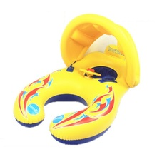 Hot Swimming Ring Inflatable Ring Baby Swimming Ring Float Seat Mother And Baby Double Swim Seat Inflatable Circle(China)