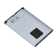 Original BP-4L Battery For NOKIA E61i E63 E90 E95 E71 6650F N97 N810 E72 E52 BP 4L BP4L 1500mAh Li-ion Mobile Phone Batteries