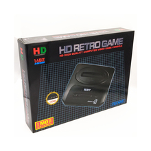 Top 720DPI HDMI TV Video Game Console Sega MEGADRIVE2 MD2 Retro Game with HDMI Output 2.4G Wireless controller with 18in1 games(China)