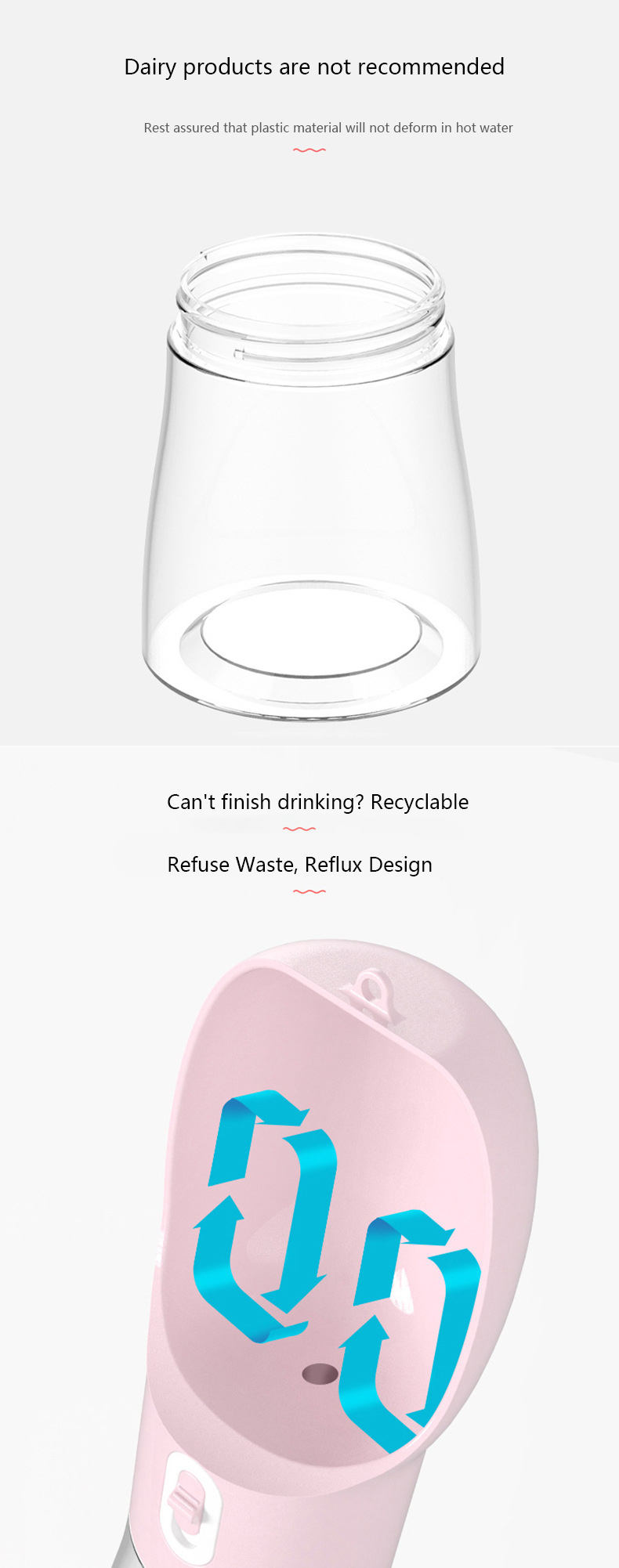 Portable Drinking Water Bottle Image