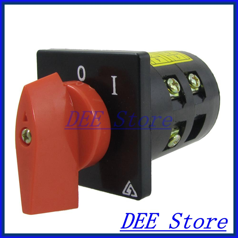 3KW 10A 0-1 on/off Position Rotary Combination Switch HZ5B-10/2.Q02<br><br>Aliexpress