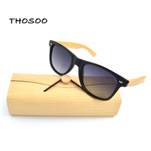 Free shipping Cheap Price Bamboo Sunglasses Polarized Lens Men Wooden Sunglasses Women Brand Designer Original Wood Sun Glasses