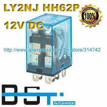 Promotion for 12V DC Coil Power Relay LY2NJ HH62P-L JQX-13F with Silver Alloy Contacts(China)