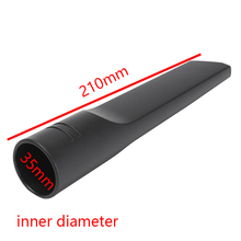 1pc 35mm Black PP Plastic Matte Texture Vacuum Cleaner Crevice Tool Port Corner Nook Cranny Tool Replacement(China)