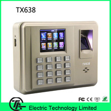 Linux system Live ID sensor TX638 fingerprint time attendance system with WIFI TCP/IP communication(Hong Kong)