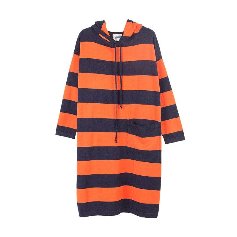 50kg~100kg Wear Knitted Dresses Womens Hood Sweaters dress Warm Winter Long Sleeves Loose Pullovers for Women Hoodies DressÎäåæäà è àêñåññóàðû<br><br>