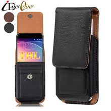 Premium Vertical Leather Case for THL T6C T6S / T6 Pro, 2015 2015A , L969 L968 , W200S W200C Phone Holster Swivel Cover Bag Capa(China)