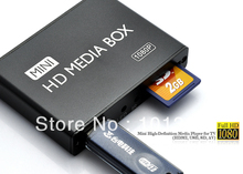 Full HD 1080P Media Player,Digital Signage Player,Adverting player box,HDMI,AV output,SD/MMC Card reader/USB Host Free shipping!