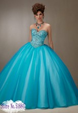 New Free Bolero Jacket Tulle Ball Gown Quinceanera Dresses Blue Cinderella Sweet 16 Dresses Jeweled Beaded Party Prom Dresses