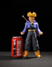 25CM Dragon Ball MSP The Super Saiyan Trunks Master Stars Piece PVC Action Figure Toys Collection Model Doll With Box
