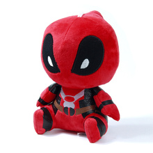 20cm Deadpool Stuffed Plush Toy Doll Movie Super Hero New Mutants Soft Figure Toy Wade Winston Wilson X-men