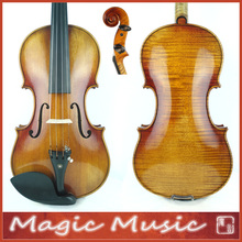 "SELECTED! Antonio Stradivarius 1714 ""Soil"" Copy Master Level 4/4 Violin #1799, European Spruce & handmade oil varnish"
