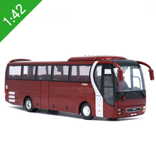 Brand New 1:42 Scale MAN,Lion's Star Diecast Bus Coach Models Toys YuTong Bus For Adult collection Gifts(China)