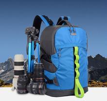 SY13-BLUE Professional Waterproof Outdoor Bag Backpack DSLR SLR Camera Bag Case Nikon Canon Sony Pentax Fuji