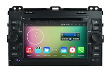 Quad core Android 5.1.1 Car DVD Video Player GPS  for Toyota Prado Cruiser 120 2003 - 2009 with Mirror-link WiFi BT Radio
