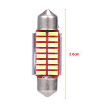 Festoon 36mm LED Bulb C5W C10W Super Bright 4014 16 SMD Canbus Error Free Auto Interior Dome Lamp Car Styling Reading Light