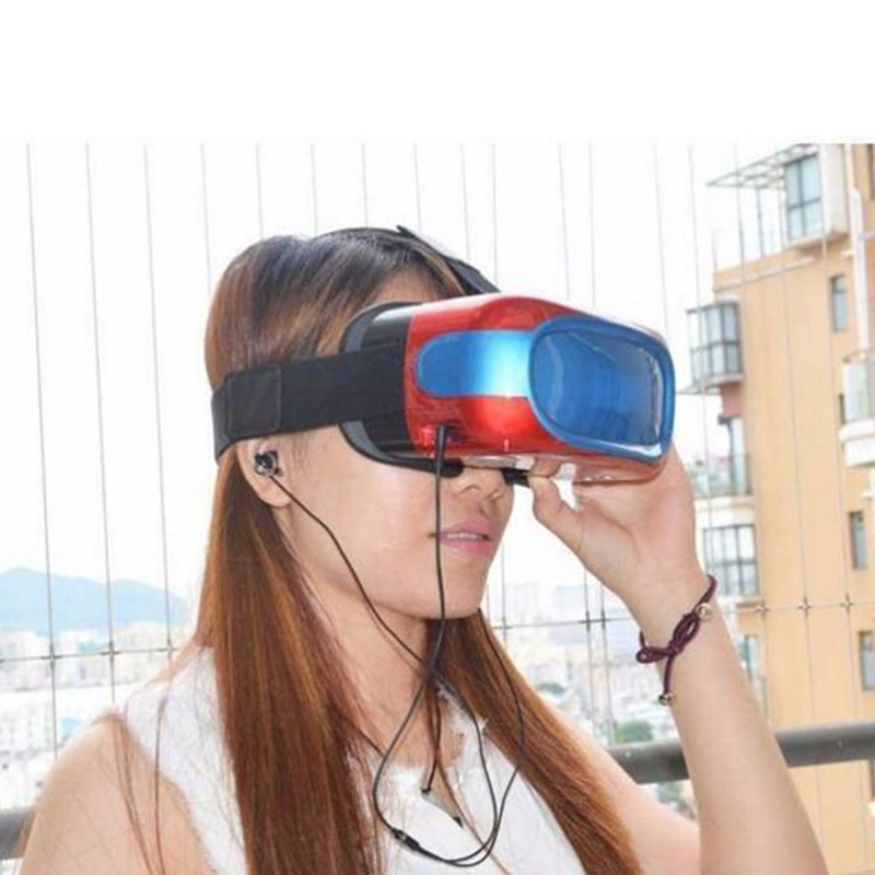 New VR all in one machine virtual models 3D smart glasses reality wearable VR box Andriod 5.1 system all in one VR box