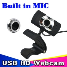 Webcam  Black Color USB 2.0 30 mega Pixel Web Cam HD Webcam Camera WebCam With MIC Microphone For Computer PC Laptop NotebooK