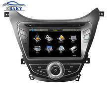8 inch Professional Wince Car Multimedia DVD Player For Hyundai Elantra/MD 2011-  With GPS Navigation Free Map