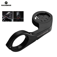 ROCKBROS Bicycle Computer Holder GPS Garmin 520 800 Bryton 310 530 MTB Bike Seat Extension cycling accessories Handlebar Edge(China)