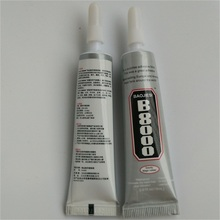 6pcs 18ml B8000 super glue fabric special adhesive hat cell phone case epoxy resin glue(China)