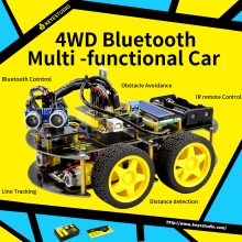 Keyestudio Smart-Car Programming Arduino-Robot Multi-Functional Video Manual DIY Online