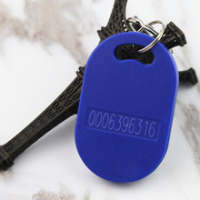 Buy 100Pcs/Lot 125KHZ EM4100/TK4100 Read RFID Tag Card Proximity Token Keyfobs 3 Color for $25.65 in AliExpress store