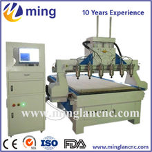 rack and pinion cnc wood cutting machine cnc router Dust collector and Rotary device optional