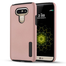 Luxury PC+Silicone ShockProof Silicone Cover Case sFor LG G5 H850 H840 / G5 Dual mobile phone cases bags shell for lg h850 coque