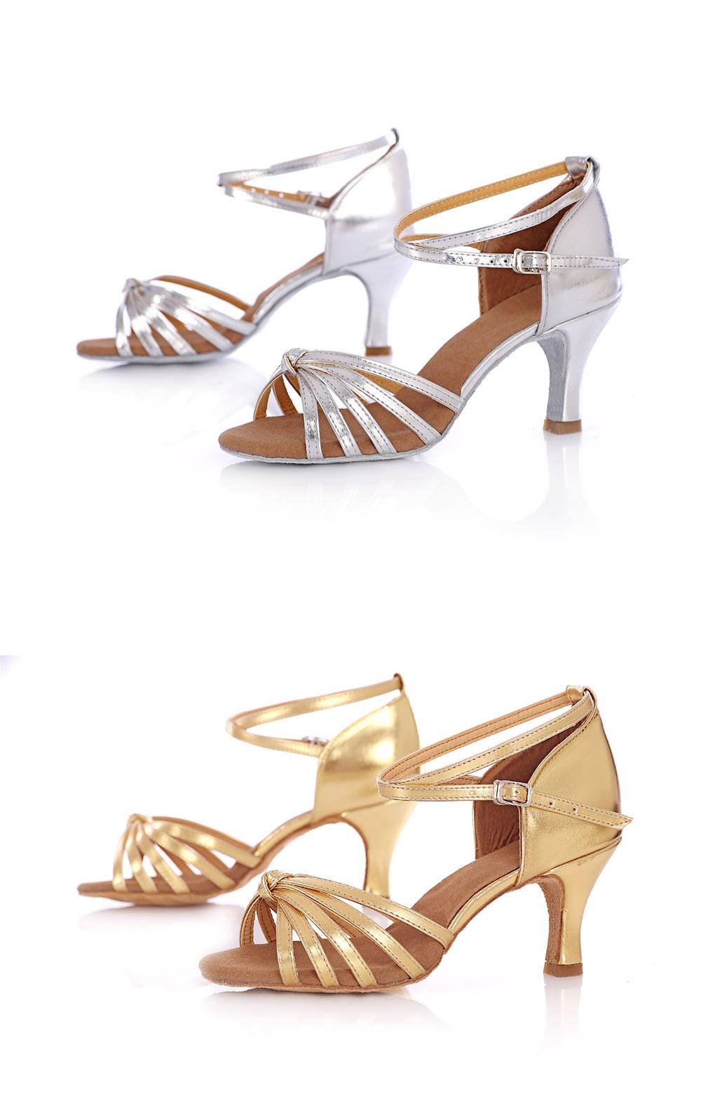 Latin Dance Shoes For Women Salsa Tango Ballroom Dance Shoes High Heels soft Dancing Shoes 5 7cm Heel zapatos baile comfortable (10)