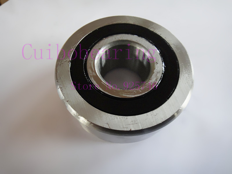 Free shipping 1pcs  5211 2RS RS Double Row Angular Contact Ball Bearings 3211 2RS 55mmX100mmX33.3mm<br>