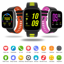 GV68 Bluetooth Smart Watch Phone Waterproof Smartwatch Support Pedometer Anti lost Ultra Thin Screen Wristwatch for Android IOS