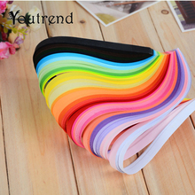 260 Stripes/lot 3mm 5mm 7mm 10mm 26 Colors Paper Quilling Paper Rolling DIY Decoration Pressure Relief Gift manualidades