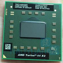 AMD cpu laptop Turion TL-66 TMDTL66HAX5DM CPU 1M Cache/2.3GHz/Socket S1/Dual-Core Laptop processor tl66 TL 66(China)