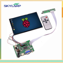 "7"" High Resolution 1280*800 IPS 39 Pins Screen Multifunctional Driver Board with AV2 HDMI VGA for Raspberry Pi (without touch)"
