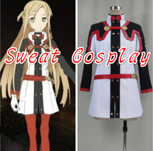New Arrive Sword Art Online The Movie: Ordinal Scale Asuna Yuuki Cosplay Costume Custom Made