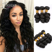 TOP 7A Russian Virgin Hair Loose Wave Unprocessed Russian Hair Bundles 3pcs lot 100% Human Hair Weave Extensions Free Shipping