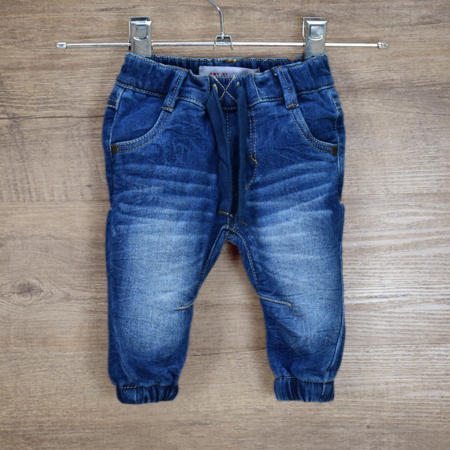 HSIN1609001-1 Newborn Baby Boys Girls Jeans Pants Infant Kids Warm Denim Pants New Born Children Clothes Toddler Leggings Christmas Winter