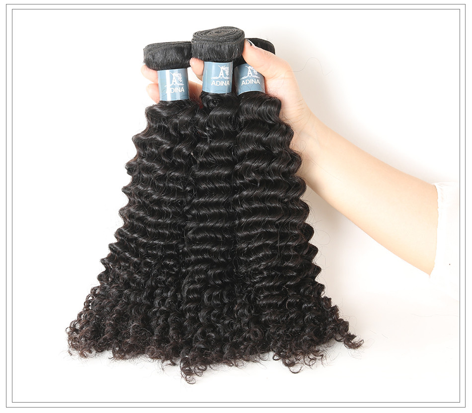 Amanda virgin hair weave kinky curl12