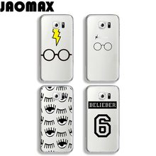 Buy Jaomax Bling Eyes Harry Potter Case Samsung Galaxy S8 S7 S6 S5 S4 S3 Edge Plus Silicone Transparent Soft Phone Cover Quotes for $1.99 in AliExpress store