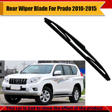 Auto Rear Windscreen Windshield For Toyota Land Cruiser Prado 2010-2015 Car Soft Rubber Wiper Blade