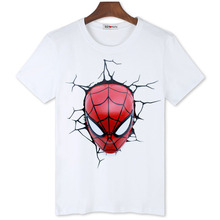 BGtomato Super cool 3D spiderman t shirt Cheap sale original brand comfortable summer shirt men fashion new style trend shirts